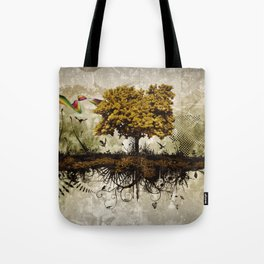 Space in Time  Tote Bag