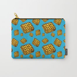 Waffle morning Carry-All Pouch