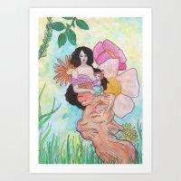 Nourish Art Print