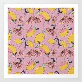 Joy (Pink) Art Print