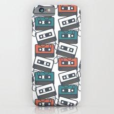 Cassette Tape Pattern iPhone 6s Slim Case