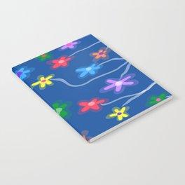 Blue garden Notebook