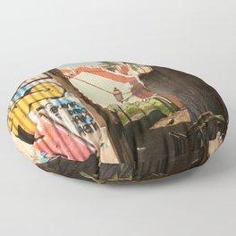 Defaced Floor Pillow