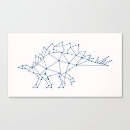 Stegosaurus Vector Canvas Print