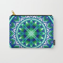 Sacred Places Green Carry-All Pouch