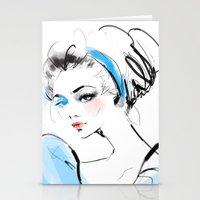 cinderella Stationery Cards featuring Cinderella  by putemphasis
