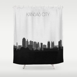 City Skylines: Kansas City (Alternative) Shower Curtain