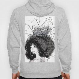 Overgrown afro Hoody