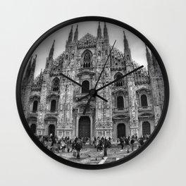 Milan Duomo Wall Clock