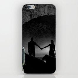 j'en ne peux m'arrêter de penser à toi iPhone Skin