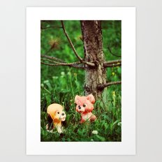 Red and Toby Art Print