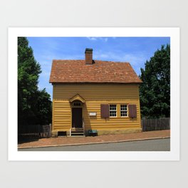 Winston-Salem, NC - Old Salem Store 2009 Art Print