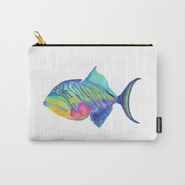 Parrot Fish Carry-All Pouch