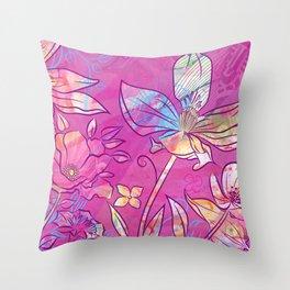 Moxie Magnolia Throw Pillow