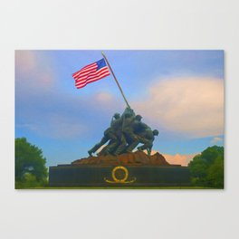 Iwo Jima Canvas Print