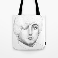 Paul, Your hair is long but not long enough like your eyelashes Tote Bag