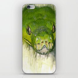 Python Art iPhone Skin