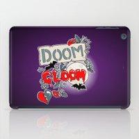 doom iPad Cases featuring Doom & Gloom by Melissa Morrison