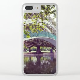 River bridge Clear iPhone Case