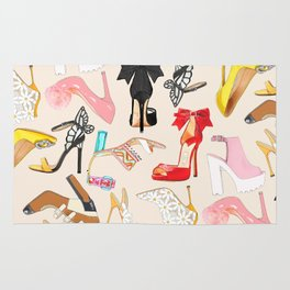 Shoes Full Time Love Rug