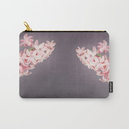 Pink Hyacinths Carry-All Pouch