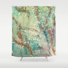 Copper Splash Shower Curtain