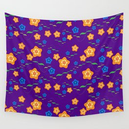 Floral-007a Wall Tapestry