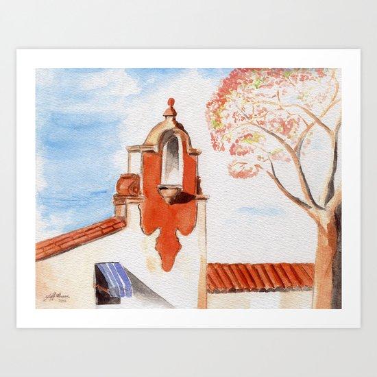The Firestone Building Art Print