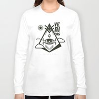 religious Long Sleeve T-shirts featuring Vigilo Vos by ohzemesmo