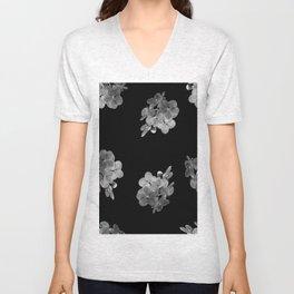 Floral Depth Unisex V-Neck