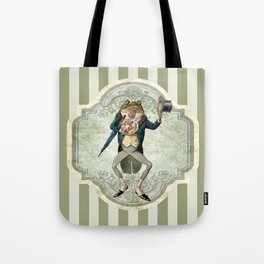The Blind Date (Victorian Frog) Tote Bag