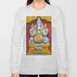 Indian Temple Elephant Long Sleeve T-shirt