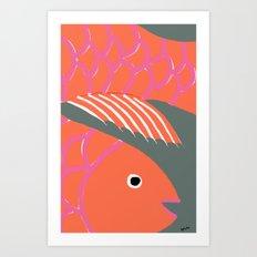 Good Luck Fish Art Print