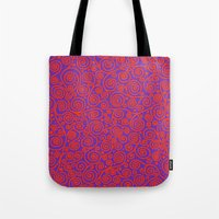 friday Tote Bags featuring Friday by Bunyip Designs
