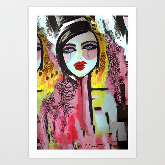 Art Darling Art Print