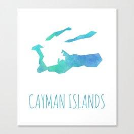 Cayman Islands Canvas Print