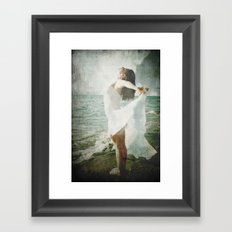 She was made of the Sea Framed Art Print