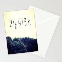 FLY HIGH Stationery Cards