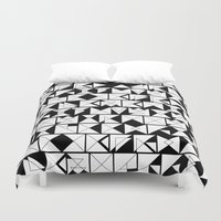 chaos Duvet Covers featuring Chaos  by Chris Klemens