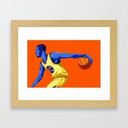 Steph Curry Framed Art Print