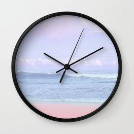 Pastel vibes 50 Wall Clock