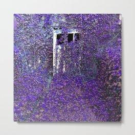 Purple Ivy Metal Print