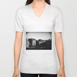 Tribeca Window by Igh Kihl Media/Piffington Kushfield Photography Unisex V-Neck