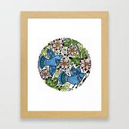 Blossom Spring Framed Art Print