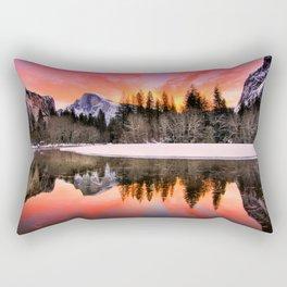 Romanticism Landscape Rectangular Pillow