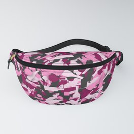 Pink alcohol camouflage Fanny Pack