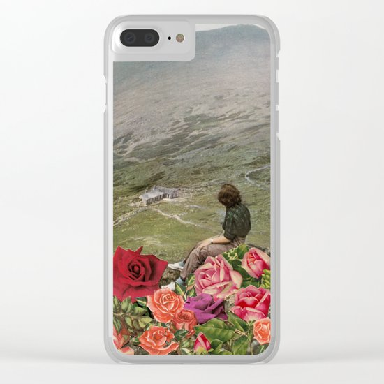 Life is a Bed of Roses Clear iPhone Case