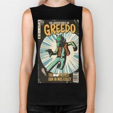 Greedo Vintage Comic Cover Biker Tank