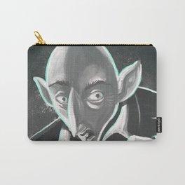 creepy spooky nosferatu Carry-All Pouch