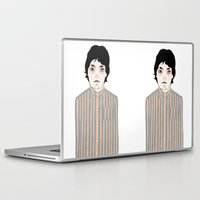 stripes Laptop & iPad Skins featuring Stripes by Le Butthead